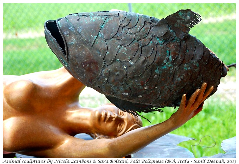 Fish by Nicola Zamboni & Sara Bolzani, Bologna, Italy - Images by Sunil Deepak