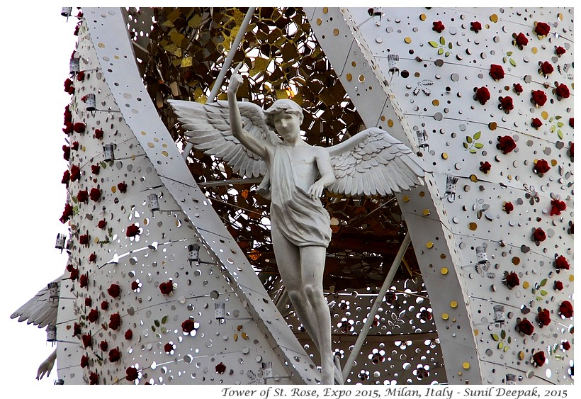 Tower of St Rose, Expo 2015, Milan, Italy - Images by Sunil Deepak