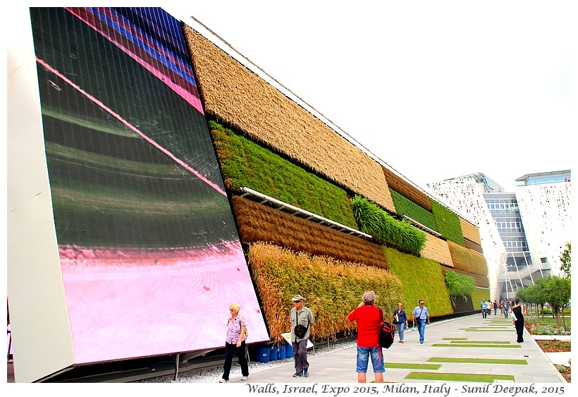 Walls - Israel pavilion, Expo 2015, Milan, Italy - Images by Sunil Deepak