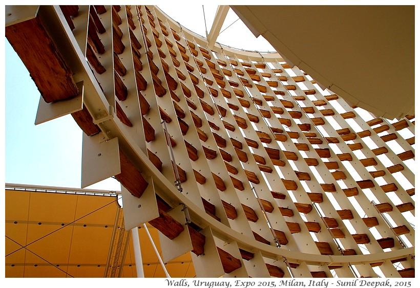 Walls - Israel pavilion, Expo 2015, Milan, Italy - Images by Sunil Deepak