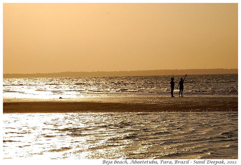 Beach, Beja, Abaetetuba, Para, Brazil - Images by Sunil Deepak
