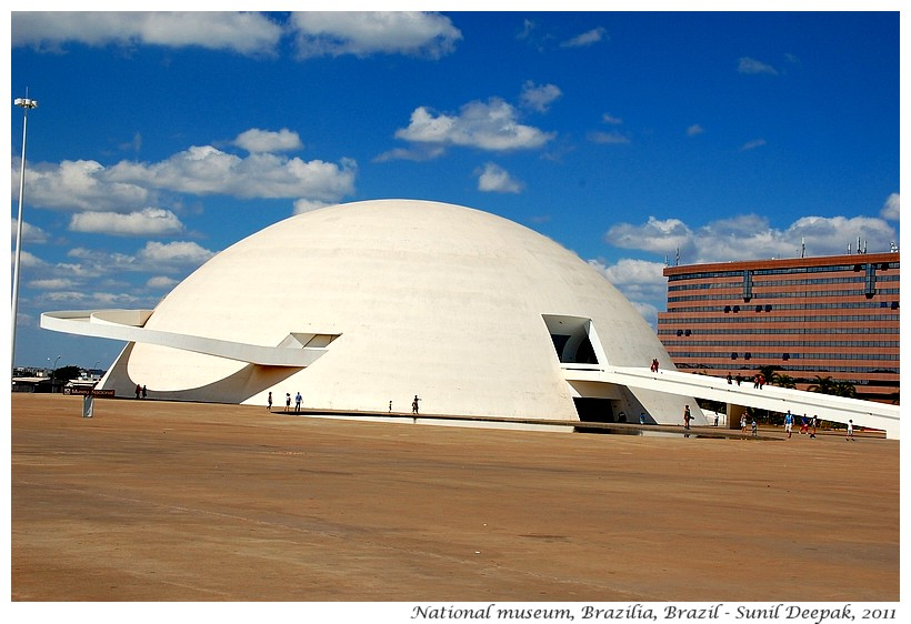 National museum, Brazilia, Brazil - Images by Sunil Deepak
