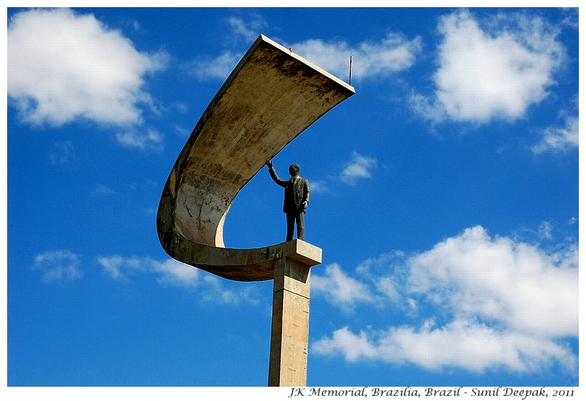 JK Memorial, Brazilia, Brazil - Images by Sunil Deepak