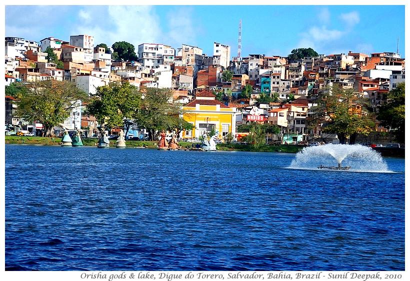 Orisha gods, Digue do Torrero, Salvador, Bahia, Brazil - Images by Sunil Deepak, 2010