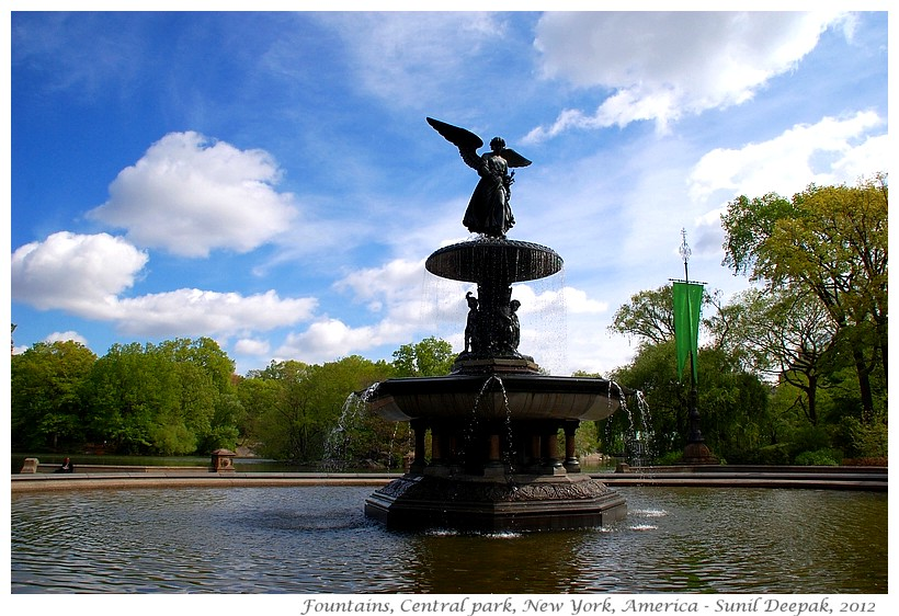 Around the World in 30 beautiful Fountains - New York, USA - Images by Sunil Deepak