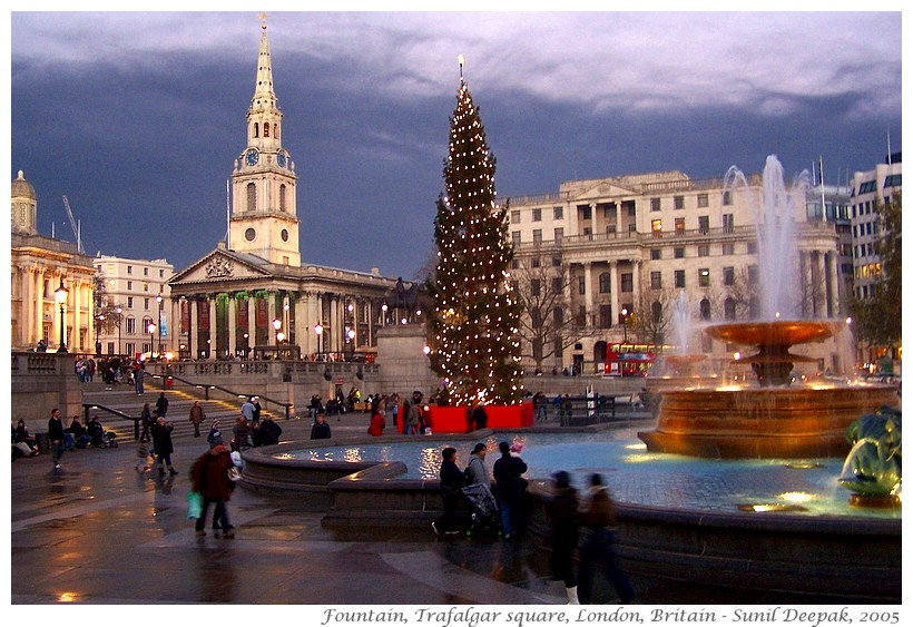 Around the World in 30 beautiful Fountains - London, UK - Images by Sunil Deepak