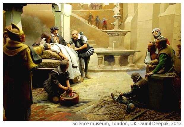 Science museum London, UK - images by Sunil Deepak, 2012