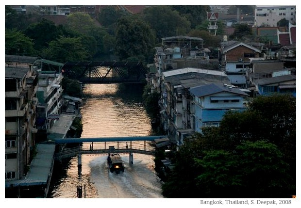 Evening in Bangkok, image by Sunil Deepak