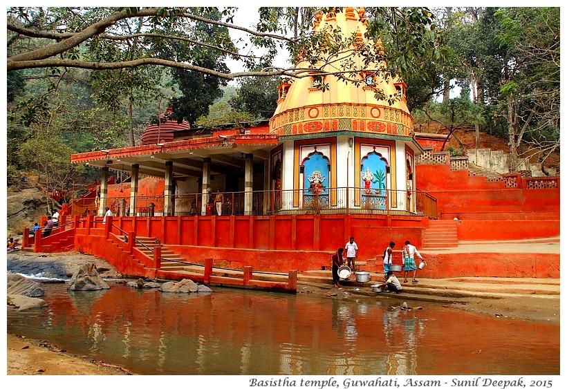 Sunil Deepak - Walking tours of Guwahati - Basistha temple