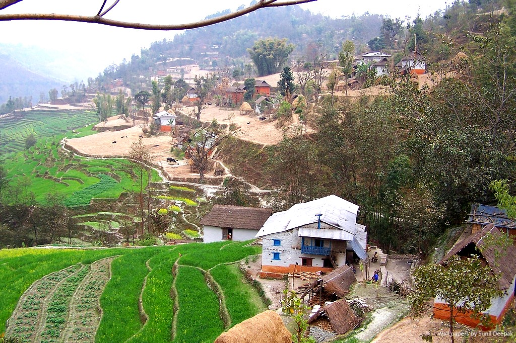 Free High Resolution Wall Papers By Sunil Deepak Mountain Villages