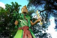 Orisha deities from Salvador, Brazil